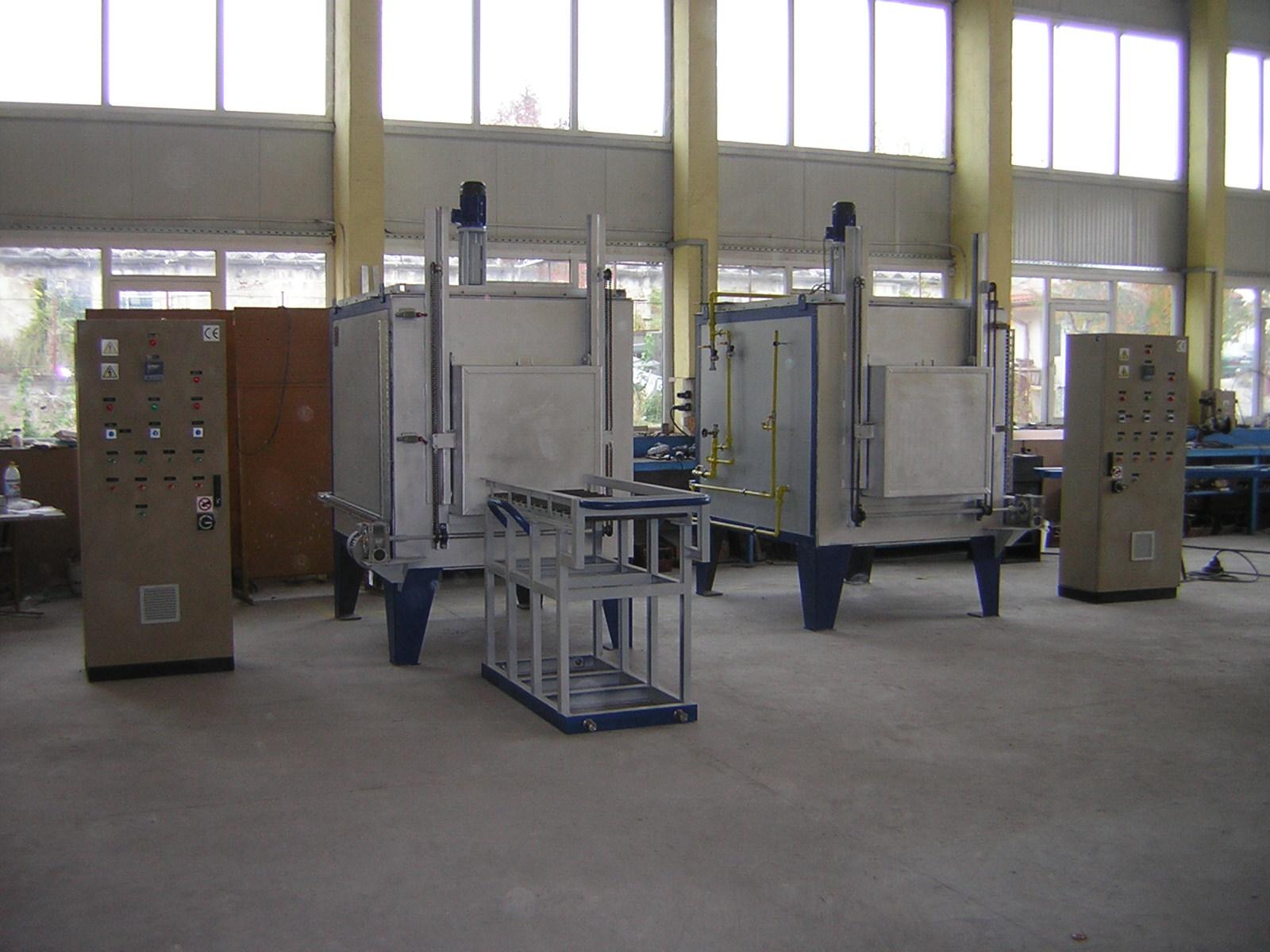 Камерни пещи в защитна газова среда