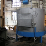 Модернизация на пещ с въртящ се под