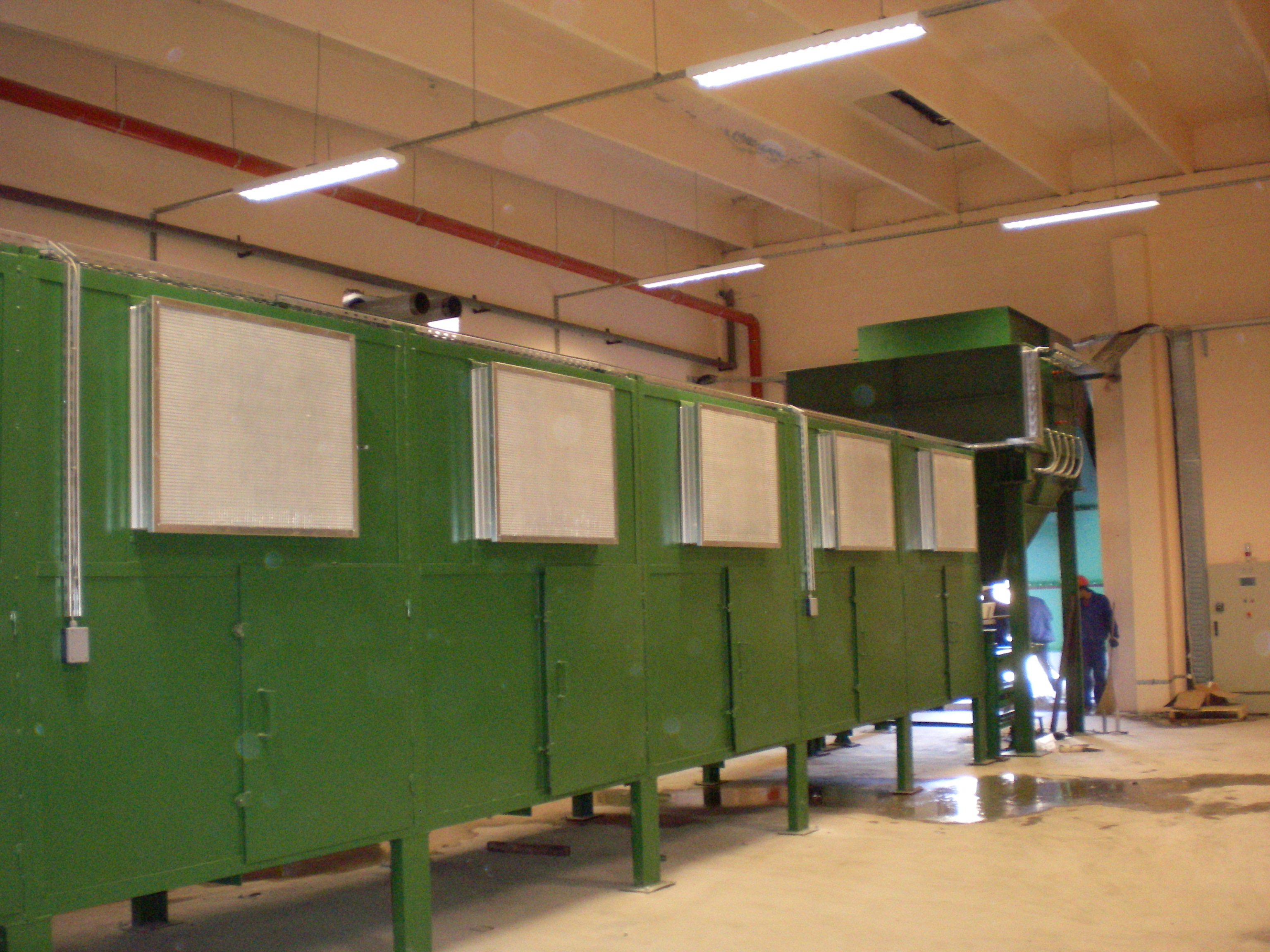 Drying Furnaces for Wood Chips